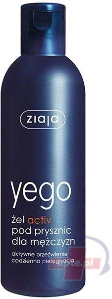 Ziaja yego żel activ pod prysznic dla mężczyzn 300 ml