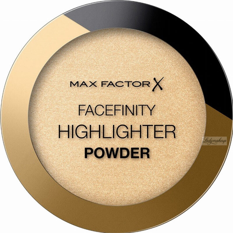 Max Factor - FACEFINITY - HIGHLIGHTER POWDER - Rozświetlacz do twarzy - 8 g - 002 - GOLDEN HOUR