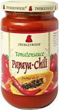 Sos pomidorowy pikantny PAPAYA-CHILI bezglutenowy BIO 350g Zwergenwiese