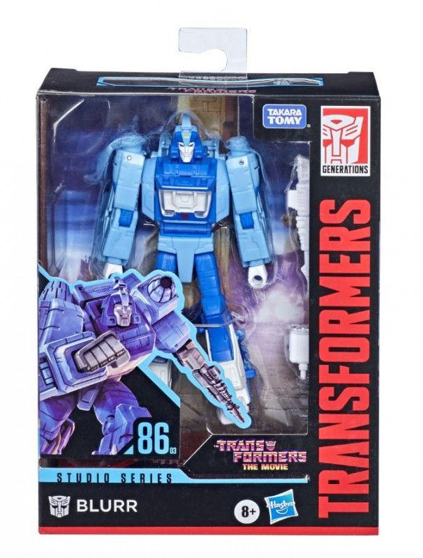Figurka Transformers GEN Studio Series Deluxe Blurr