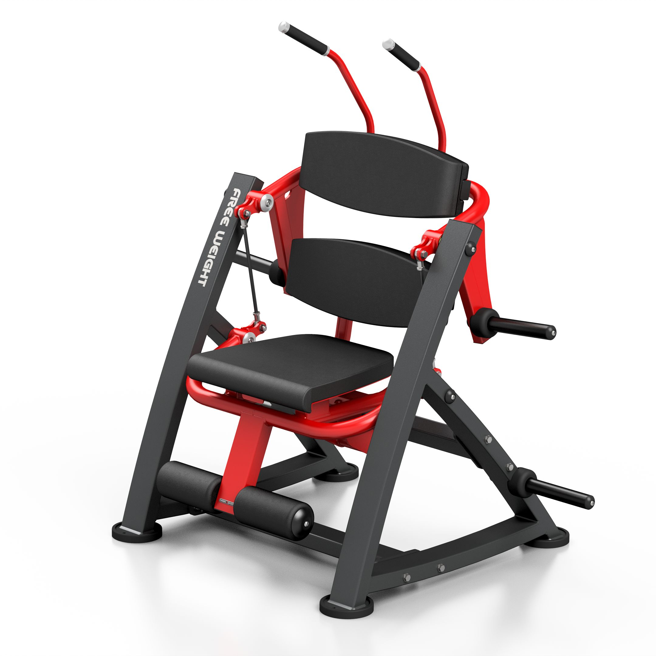 Maszyna na wolny ciężar na mięśnie brzucha MF-U015 - Marbo Sport