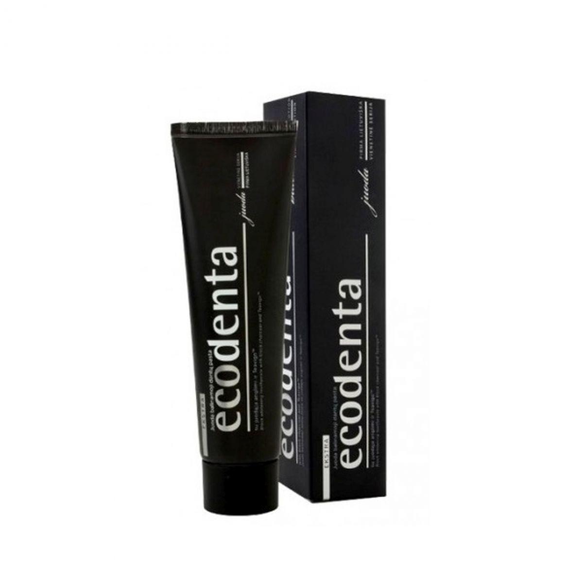 Wybielająca pasta do zębów z węglem aktywnym - 100ml - Ecodenta