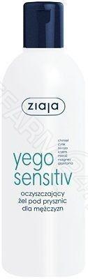 Ziaja yego sensitiv oczyszczający żel pod prysznic dla mężczyzn 300 ml
