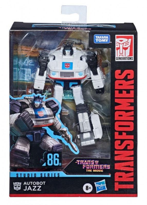 Figurka Transformers GEN Studio Series Deluxe Jazz