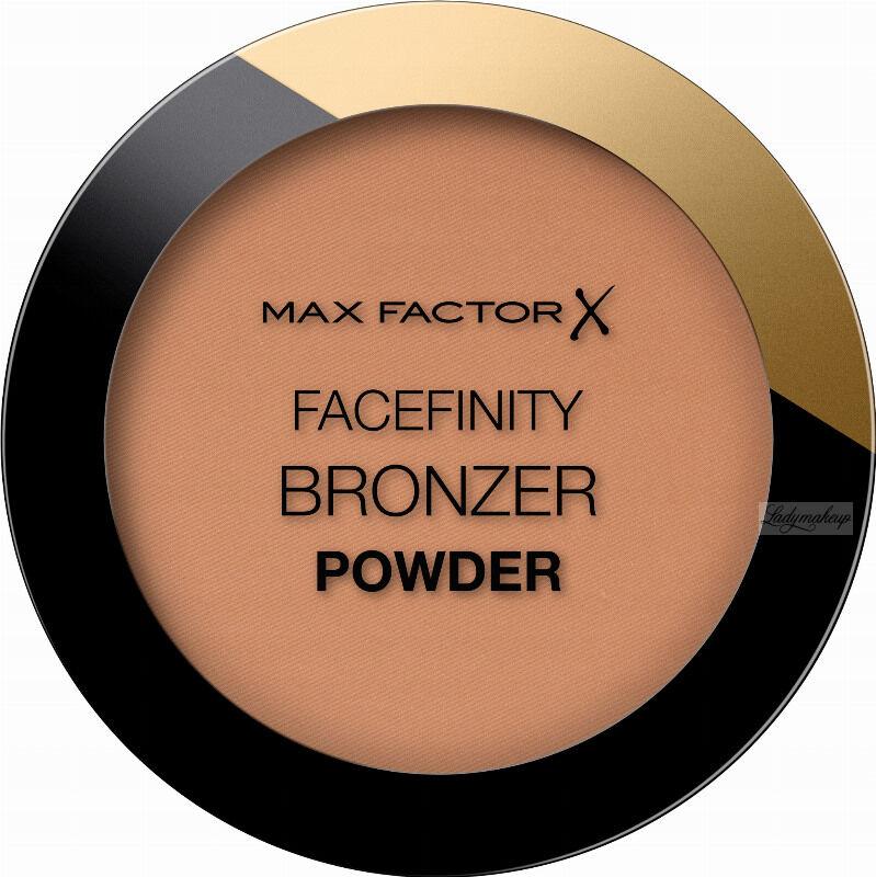 Max Factor - FACEFINITY - BRONZER POWDER - Bronzer do twarzy - 001 Light Bronze - 10 g