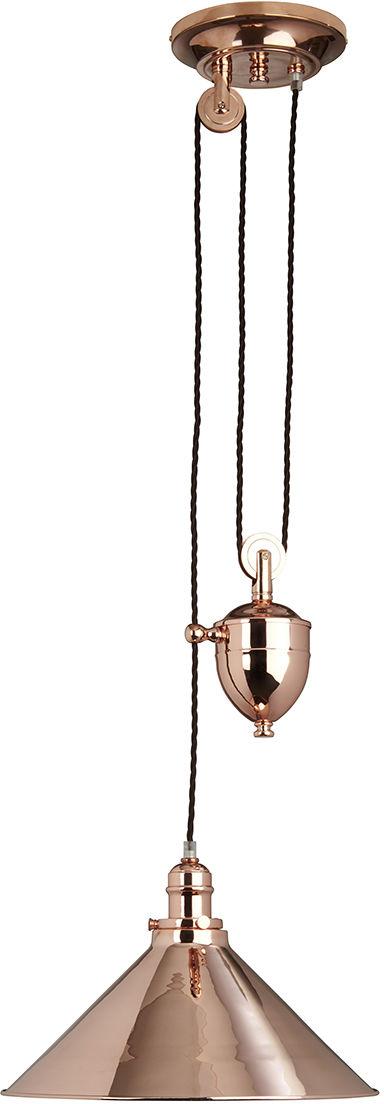 Lampa wisząca Provence PV/P CPR Elstead Lighting dekoracyjna oprawa w kolorze miedzi