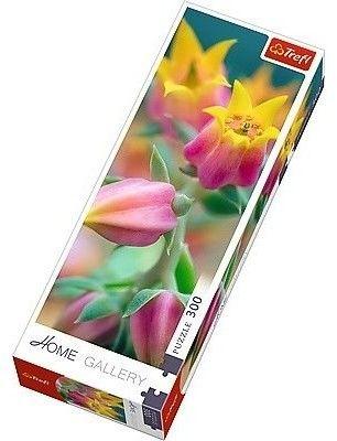 Puzzle TREFL 300 - Kwitnące kwiaty, Flowers in bloom
