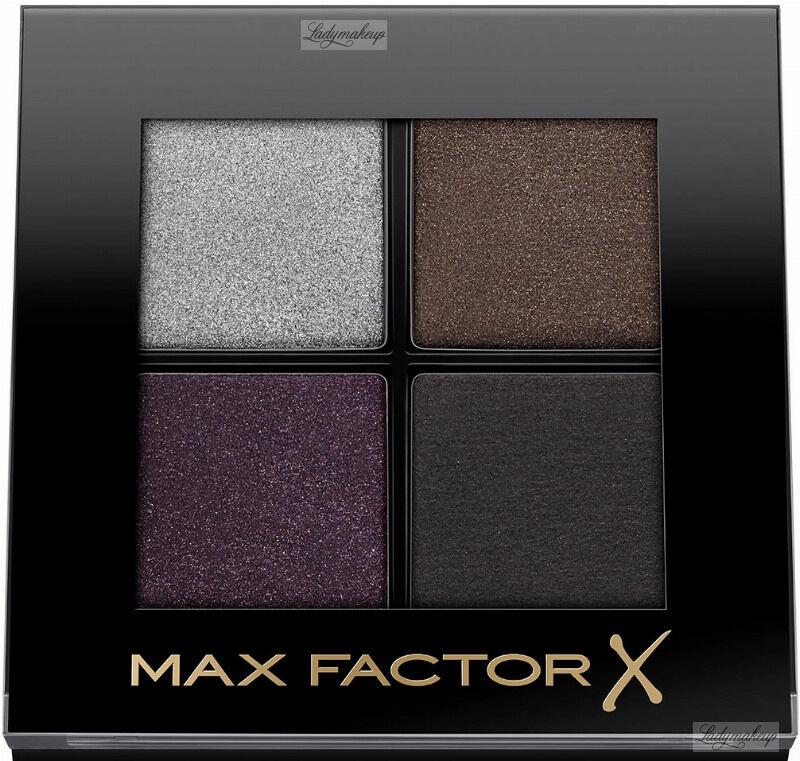 Max Factor - COLOUR X-PERT SOFT TOUCH PALETTE - Paleta 4 cieni do powiek - 005 - MISTY ONYX
