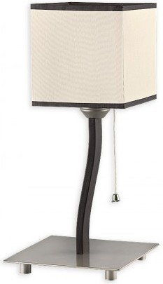 Mono lampa stołowa 1 pł. rdza wenge