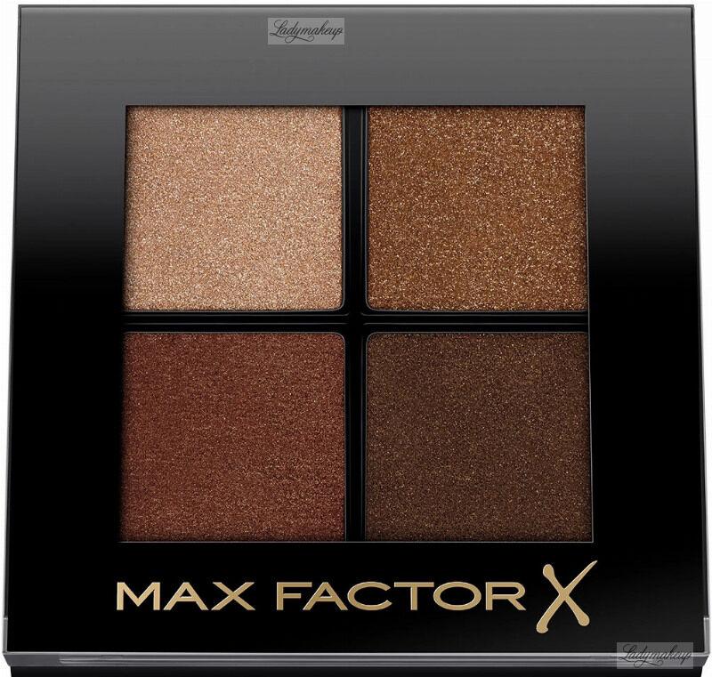 Max Factor - COLOUR X-PERT SOFT TOUCH PALETTE - Paleta 4 cieni do powiek - 004 - VEILED BRONZE