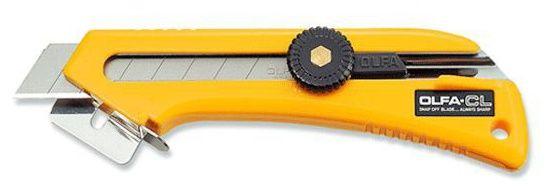 Nóż OLFA CL - do otwierania kartonów z regulacją głębokości cięcia (CL)