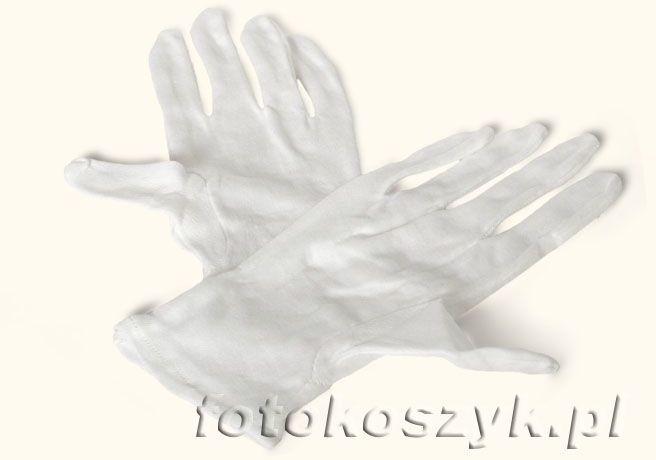 Rękawiczki bawełniane dla fotografów
