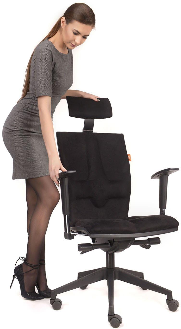 Fotel biurowy Elegance profilaktyczno-rehabilitacyjny Kulik System