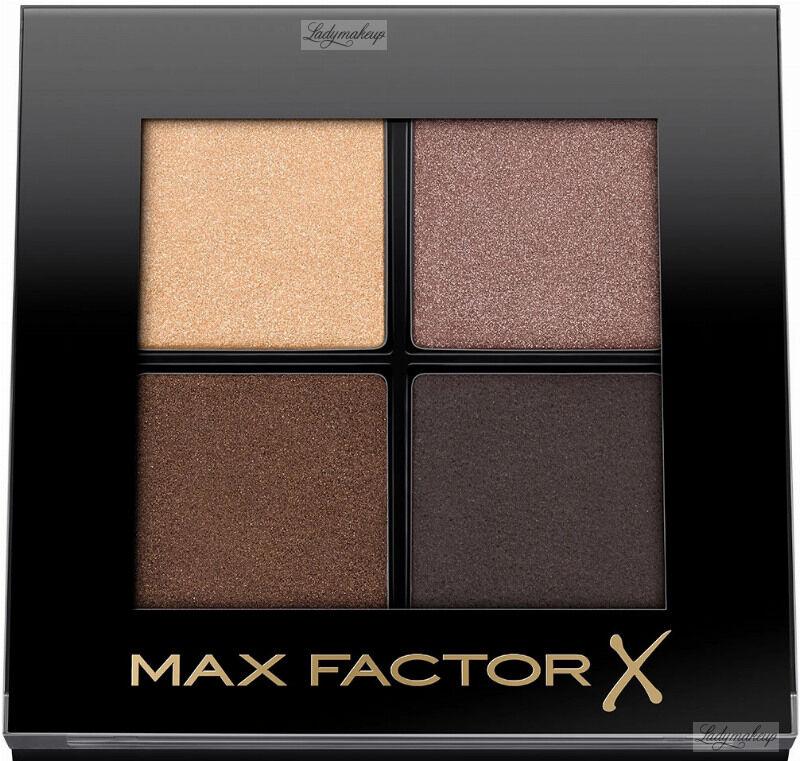 Max Factor - COLOUR X-PERT SOFT TOUCH PALETTE - Paleta 4 cieni do powiek - 003 - HAZY SANDS