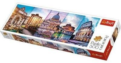 Puzzle TREFL 500 - Podróż do Włoch, Travel to Italy