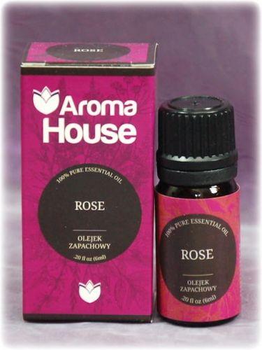 ROSE - Olejek zapachowy Aroma House 10 ml