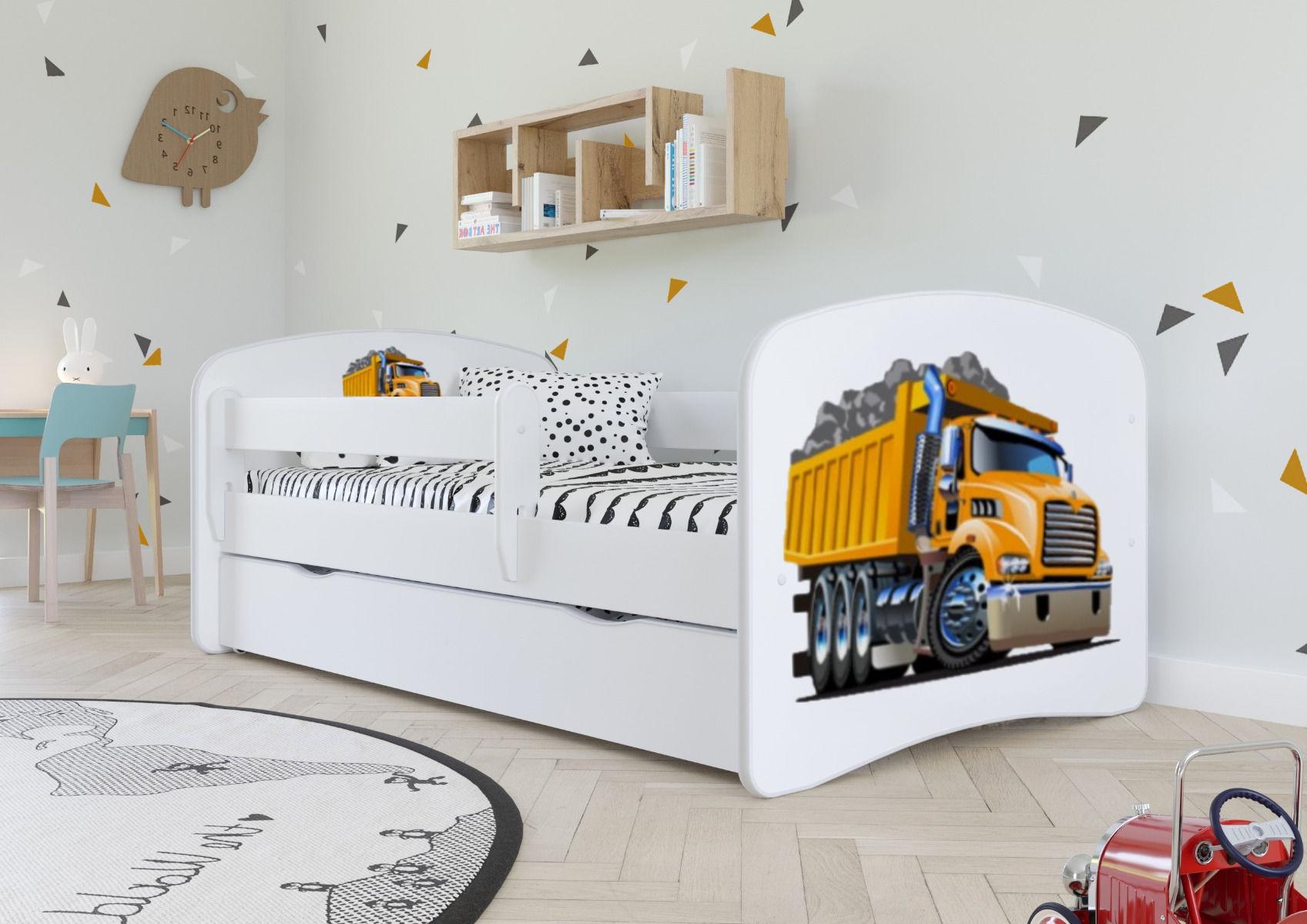 Łóżko dziecięce BABY DREAMS ciężarówka 180x80