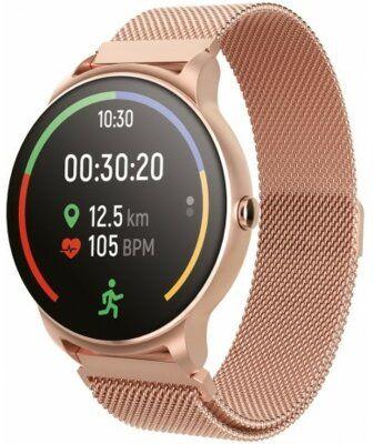Smartwatch FOREVER Forevive 2 SB-330 Różowe złoto Dogodne raty! WYBRANY PIĄTY PRODUKT ZA 1ZŁ DARMOWY TRANSPORT!