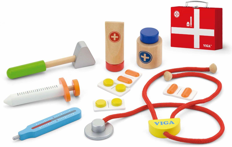 Viga 50530 Toy Toys-Artz-Koffer, Multi Color