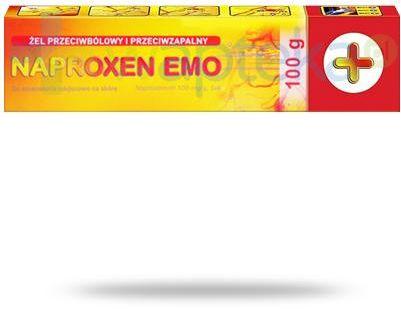 Naproxen Emo Plus 100mg/g żel przeciwbólowy i przeciwzapalny 100 g