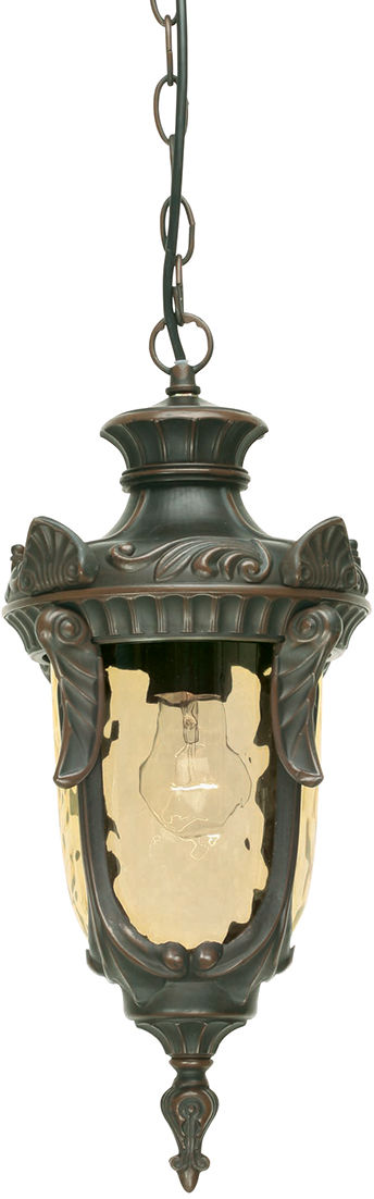 Lampa wisząca Philadelphia PH8/M OB Elstead Lighting klasyczna oprawa wisząca w kolorze antycznego brązu