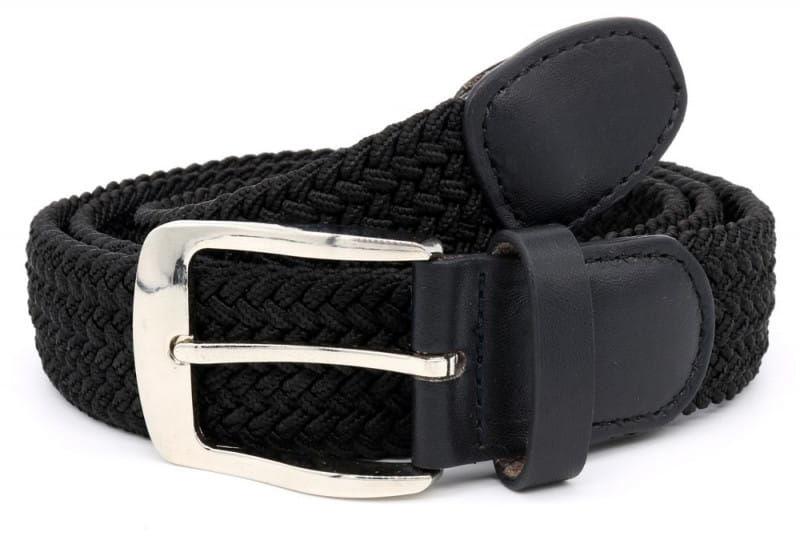 SIMON-D555 Pasek Czarny Duże Rozmiary