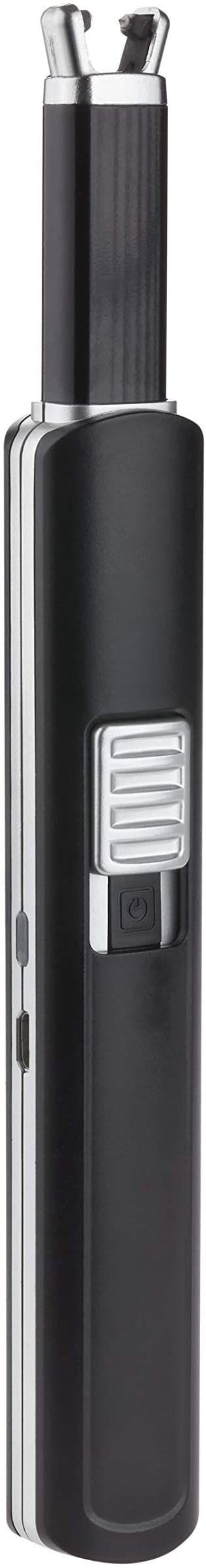 TFA elektroniczna zapalarka, 98.1119.01, łuk świetlny, do zapalania świec i zniczy, zapalniczka, ładowanie poprzez USB