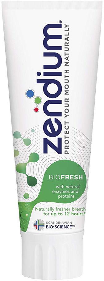 ZENDIUM BIOFRESH 75ml - ochronna, przeciwpróchnicza pasta do zębów z enzymami