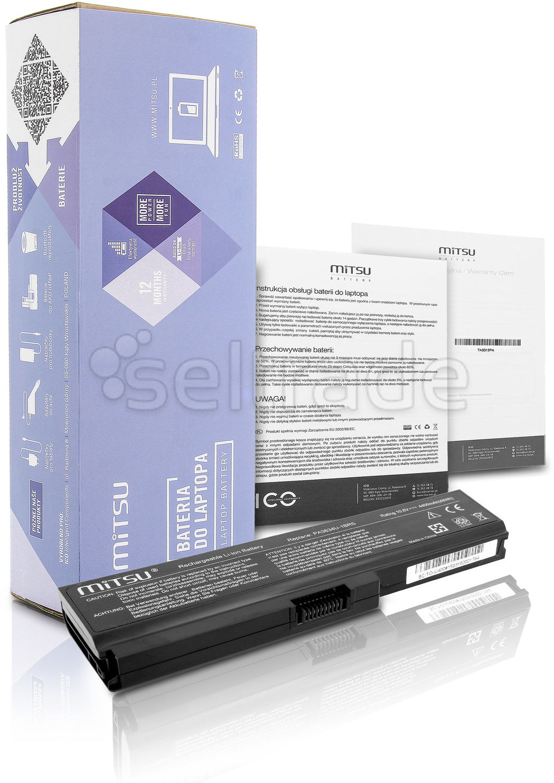 Bateria do laptopa Toshiba Satellite Pro U500-EZ1321 U500-S1322