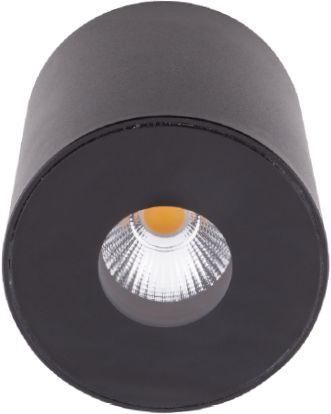 Plafon Plazma IP54 C0151 Maxlight czarna oprawa sufitowa w nowoczesnym stylu