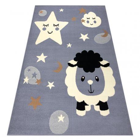 Dywan BCF FLASH Sheep 4000 - Owca, owieczka szary 120x160 cm
