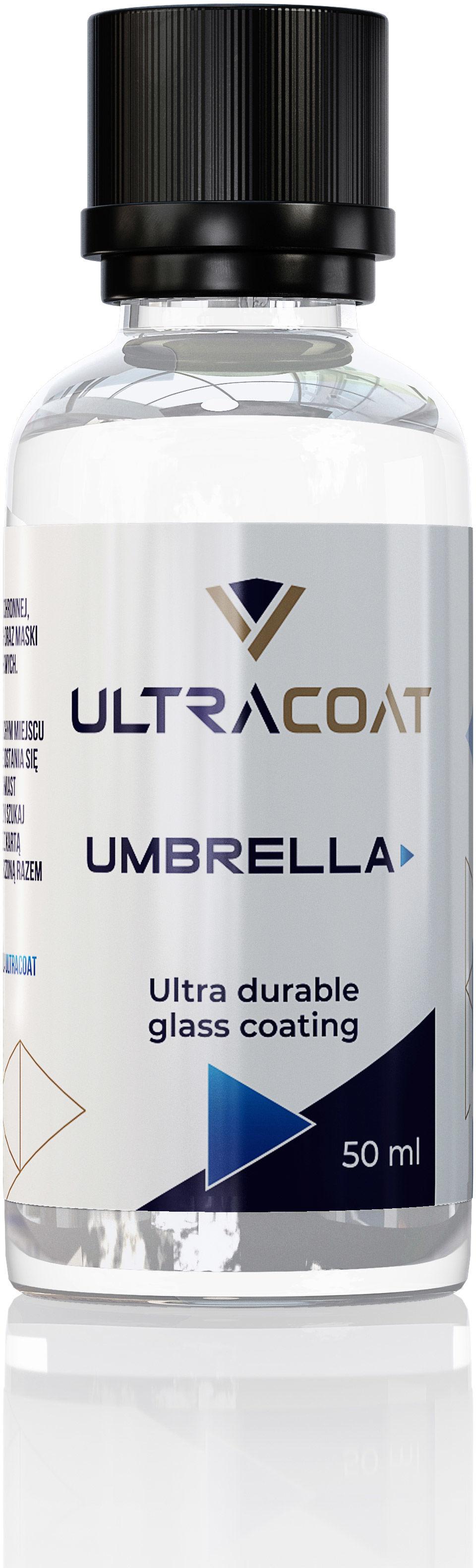 Ultracoat Umbrella  prosta w aplikacji niewidzialna wycieraczka, powłoka hydrofobowa 50ml