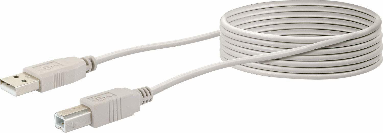 Schwaiger CK1563 531 USB 2.0 kabel do drukarki skanera/napędu zewnętrznego (3 M)