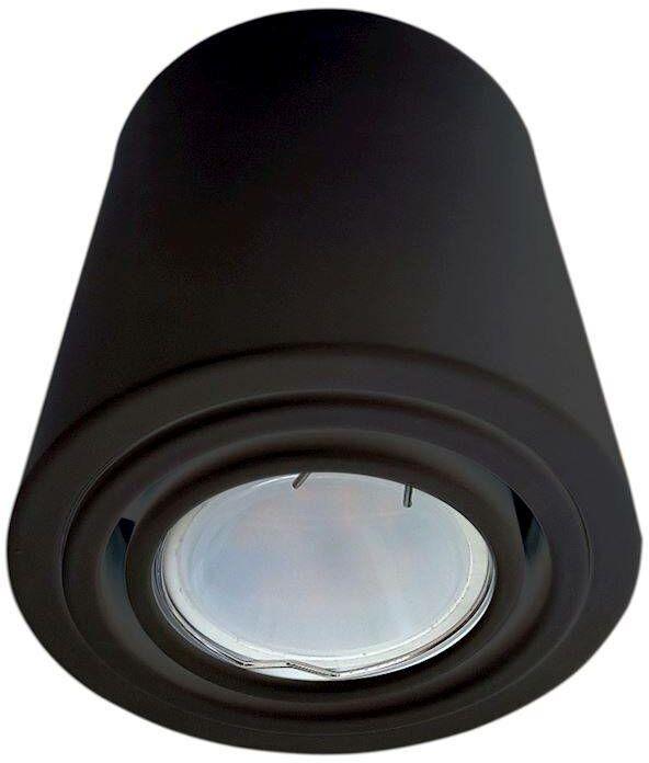 LAMPA SUFITOWA TUBO BLACK 1X7W LED GU10