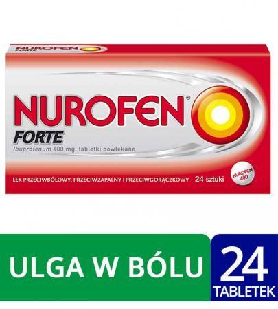 Nurofen Forte 400mg 24 tabletki powlekane