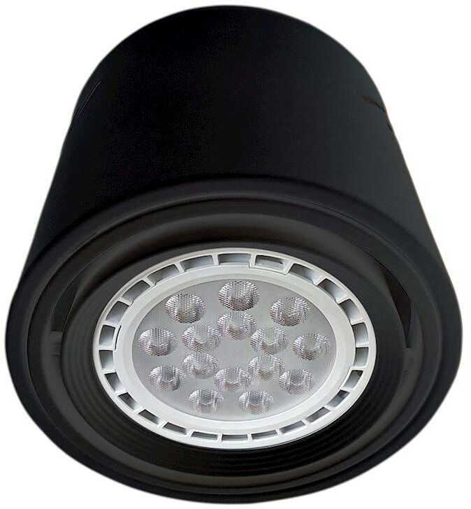 LAMPA SUFITOWA TUBO BLACK 1xAR111 (BEZ ŻARÓWKI)