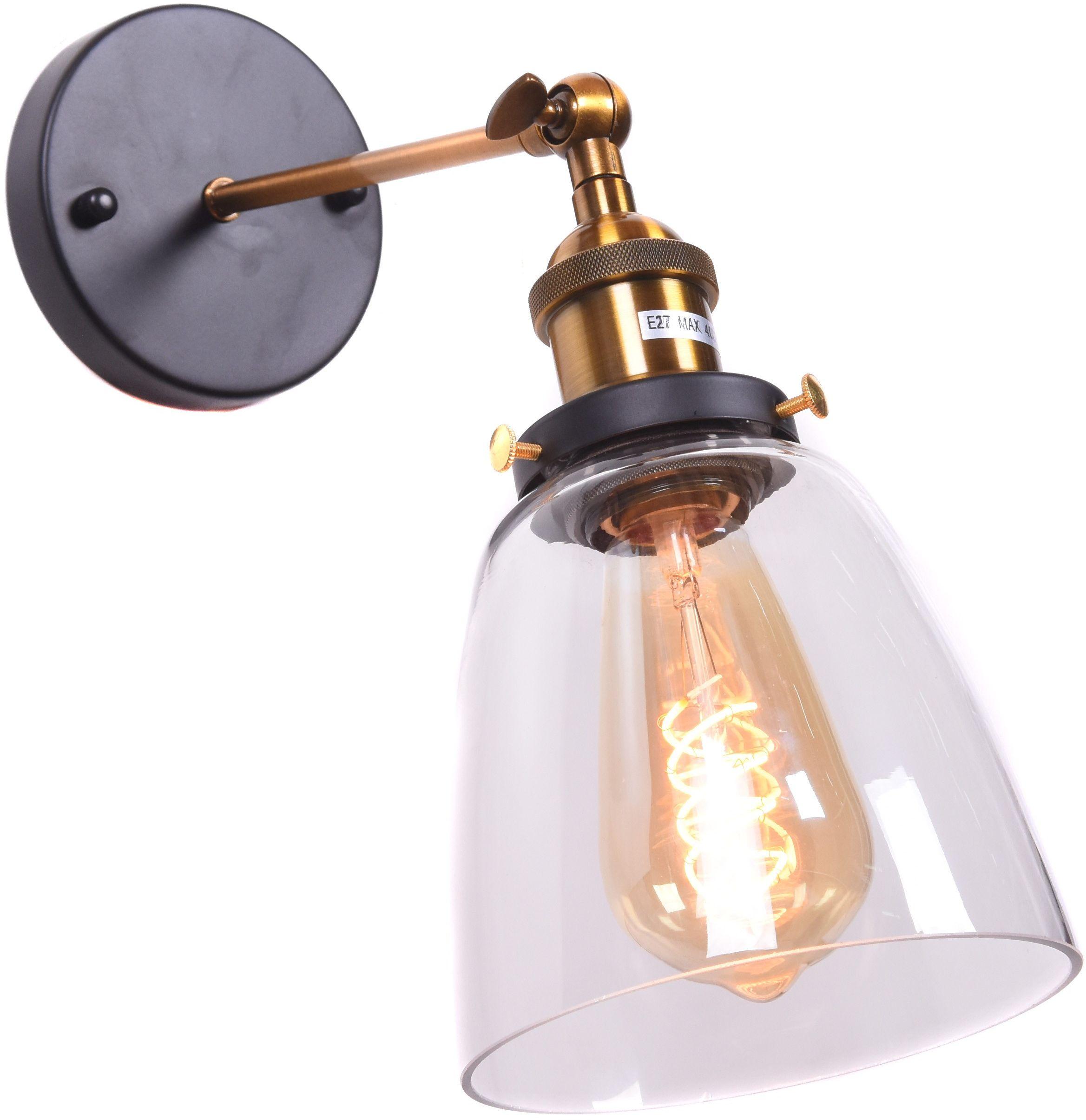 LAMPA ŚCIENNA KINKIET LOFTOWY FABI