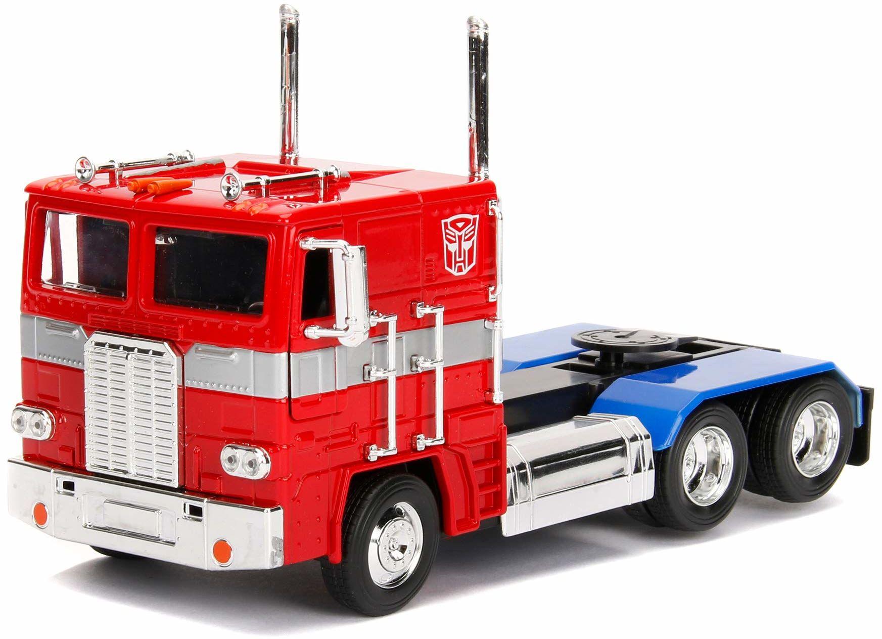 Jada Toys 253115005 Transformers pojazd, czerwony