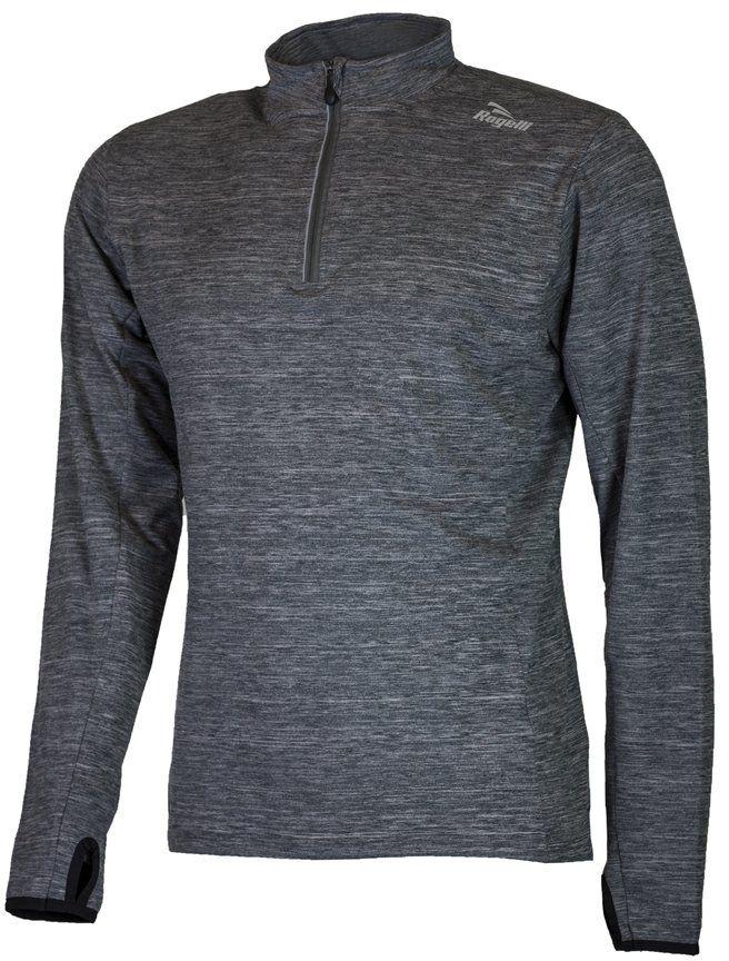 Rogelli Męska koszulka do biegania Campton 2.0, melanż, S