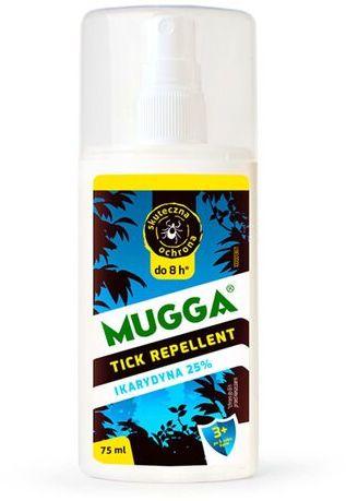 Mugga na komary i kleszcze spray 25% Ikarydyna - 75 ml
