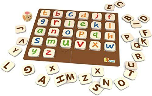 Viga 50535 - gra edukacyjna alfabet i kształty