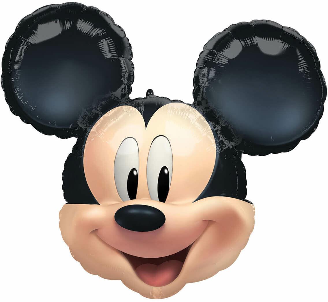 Balon foliowy Myszka Mickey - 63 x 55 cm - 1 szt.