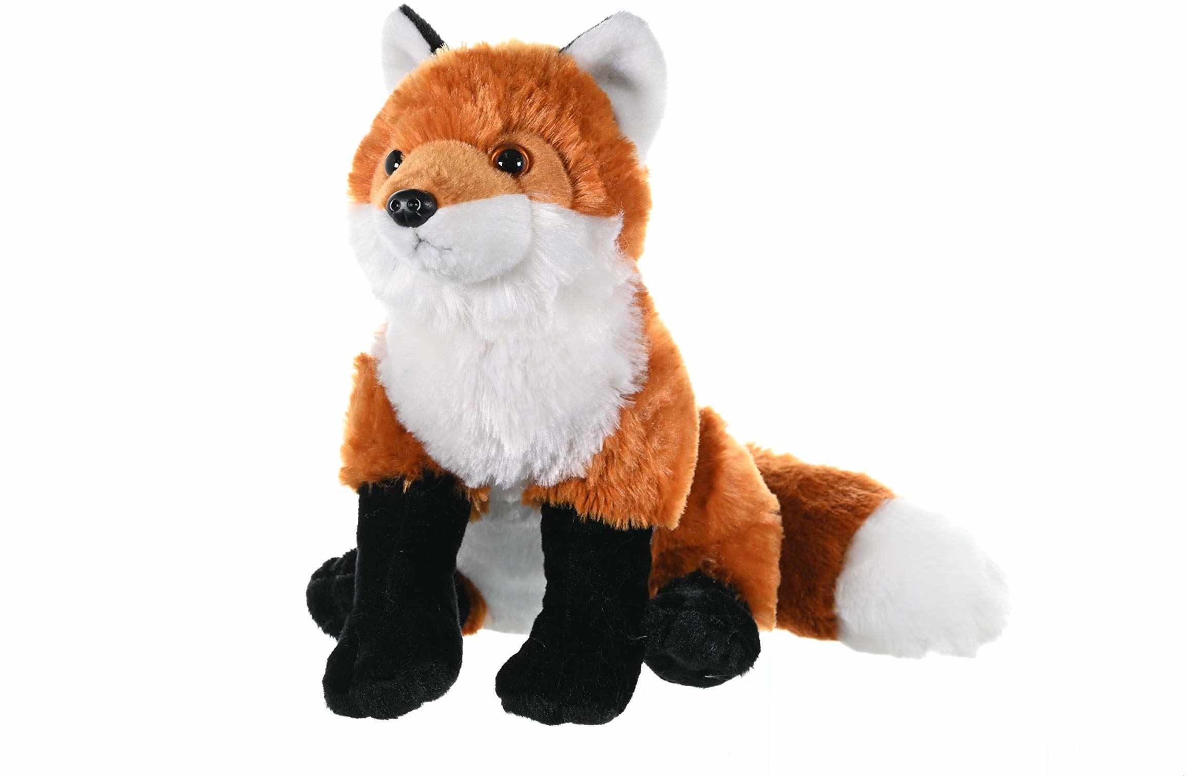 Wild Republic 10944 czerwony lis pluszowe przytulanki miękkie zabawki prezenty dla dzieci, 30 cm
