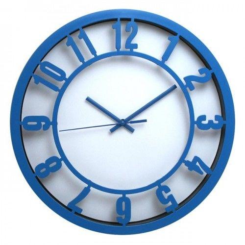 Zegar ścienny arabic niebieski