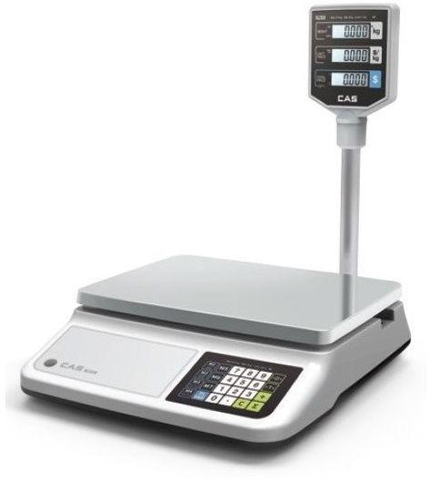 Waga kalkulacyjna z wyświetlaczem na wysięgniku - zakres ważenia do 15 kg