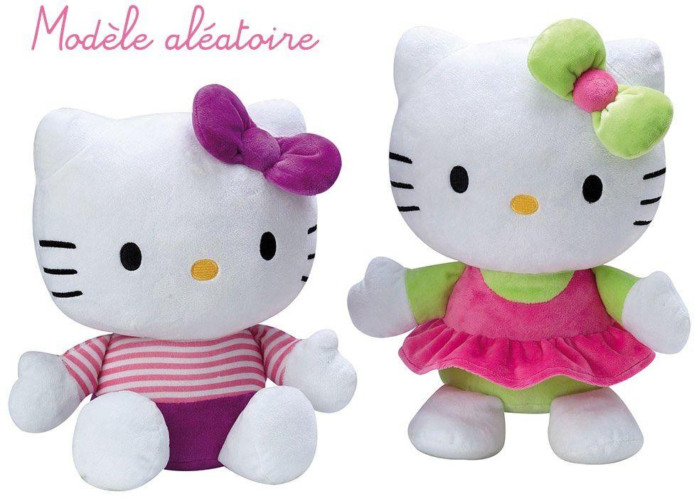 Jemini  021809  pluszowy  efekt Hello Kitty  35 cm model losowy
