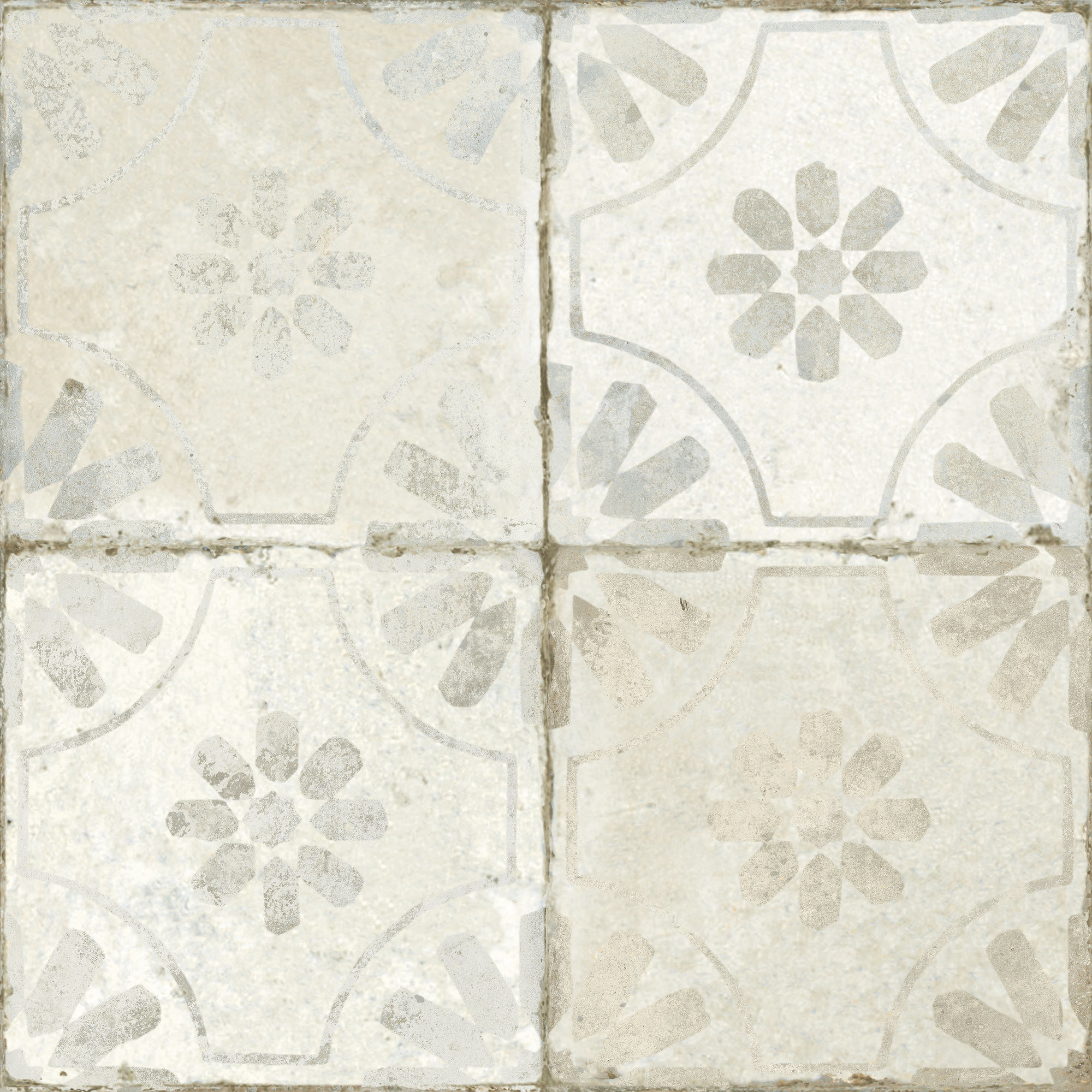 FS Blume White 45x45 płytka podłogowa