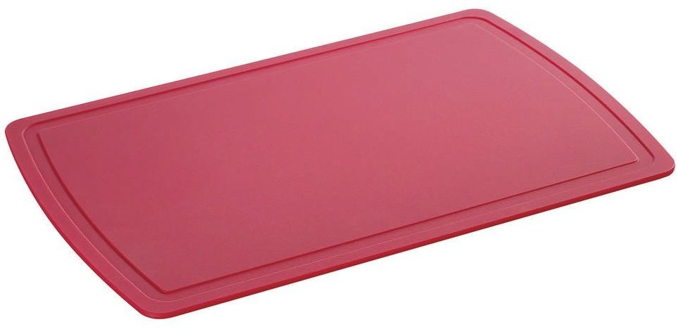 Zassenhaus - easy cut plus - deska do krojenia, 38,00 cm, czerwone