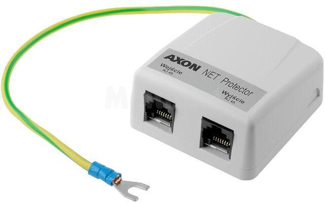 Ochronnik: do sieci telekomunikacyjnych; naścienny; RJ45; 5V