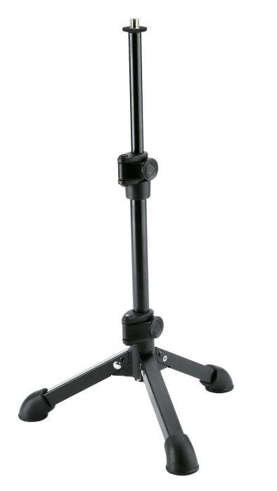 K&M 23150-300-55 statyw mikrofonowy mały, czarny 3/8